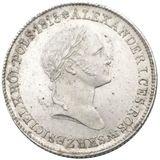 1 злотый 1827, серебро (Ag 593) — Николай I, фото 1
