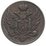 3 гроша 1828, медь — Николай I, фото 1