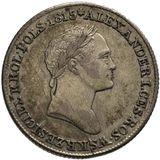 1 злотый 1829, серебро (Ag 593) — Николай I, фото 1