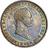 5 злотых 1829, серебро (Ag 868) — Николай I, фото 1