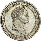 1 злотый 1832, серебро (Ag 593) — Николай I, фото 1