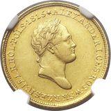 25 злотых 1833, золото (Au 917) — Николай I, фото 1