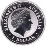 1 доллар 2000, серебро (Ag 925) | Год Дракона — Австралия, фото 1