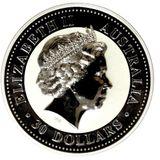 30 долларов 2000, серебро (Ag 925)   Год Дракона — Австралия, фото 1