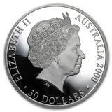 30 долларов 2000, серебро (Ag 925)   Олимпиада — Австралия, фото 1