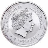 1 доллар 2001, серебро (Ag 925) | Год Змеи — Австралия, фото 1
