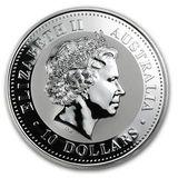 10 долларов 2002, серебро (Ag 925) | Год Лошади — Австралия, фото 1