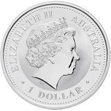1 доллар 2003, серебро (Ag 925) | Год Козы (золочение) — Австралия, фото 1