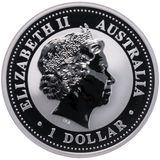 1 доллар 2003, серебро (Ag 925) | Год Козы — Австралия, фото 1