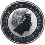 2 доллара 2003, серебро (Ag 925) | Год Козы — Австралия, фото 1