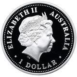 1 доллар 2004, серебро (Ag 925) | Моусон — Австралия, фото 1