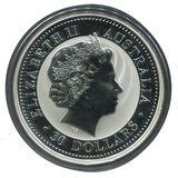 30 долларов 2004, серебро (Ag 925)   Год Обезьяны — Австралия, фото 1