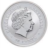 50 центов 2004, серебро (Ag 925) | Год Обезьяны — Австралия, фото 1