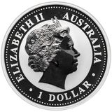 1 доллар 2005, серебро (Ag 925) | Кукабара — Австралия, фото 1