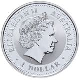 1 доллар 2005, серебро (Ag 925) | Год Петуха — Австралия, фото 1