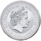 2 доллара 2005, серебро (Ag 925) | Год Петуха — Австралия, фото 1