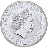 2 доллара 2006, серебро (Ag 925) | Год Собаки — Австралия, фото 1