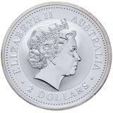 2 доллара 2006, серебро (Ag 925) | Кукабара — Австралия, фото 1