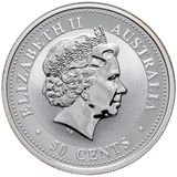 50 центов 2007, серебро (Ag 925) | Год Свиньи — Австралия, фото 1