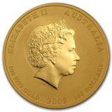 100 долларов 2008, золото (Au 999) | Год мыши — Австралия, фото 1