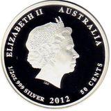 50 центов 2008, серебро (Ag 925) | Скат — Австралия, фото 1