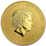 100 долларов 2010, золото (Au 999) | Год Тигра (голова) — Австралия, фото 1