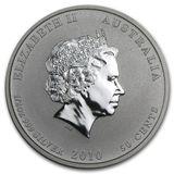50 центов 2010, серебро (Ag 925) | Год Тигра — Австралия, фото 1