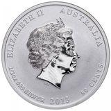 50 центов 2013, серебро (Ag 925) | Год Змеи (proof) — Австралия, фото 1
