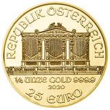 25 евро 2008, золото (Au 999) | Филармония — Австрия, фото 1