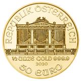 50 евро 2008, золото (Au 999) | Филармония — Австрия, фото 1