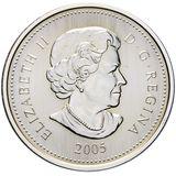 5 долларов 2005, серебро (Ag 999) | Победа 1945 — Канада, фото 1