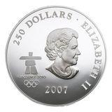 250 долларов 2007, серебро (Ag 999) | Канада в ранний период (Олимпиада) — Канада, фото 1