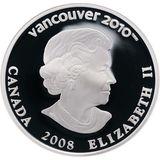 25 долларов 2008, серебро (Ag 925) | Ванкувер 2010: фристайл — Канада, фото 1