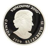 25 долларов 2009, серебро (Ag 925) | Ванкувер 2010: лыжные гонки — Канада, фото 1