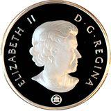 4 доллара 2009, серебро (Ag 999) | Тиранозавр Рекс — Канада, фото 1