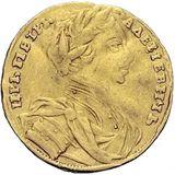 Червонец 1711, золото (Au 969) — Петр I, фото 1