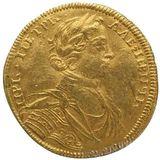 Червонец 1714, золото (Au 980) — Петр I, фото 1