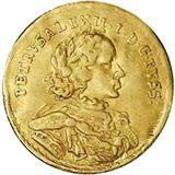 Червонец 1716, золото (Au 980) — Петр I, фото 1