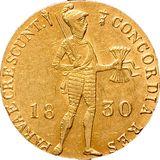 Дукат 1830, золото (Au 979) — Николай I, фото 1
