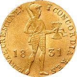 Дукат 1831, золото (Au 979) — Николай I, фото 1