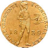 Дукат 1839, золото (Au 979) — Николай I, фото 1