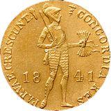 Дукат 1841, золото (Au 979) — Николай I, фото 1