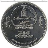 250 тугриков 2007, серебро (Ag 925) | Дева — Монголия, фото 1