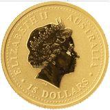 15 долларов 2007, золото (Au 999) | Год Свиньи — Австралия, фото 1