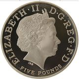 2 фунта 2005, серебро (Ag 958)   Британия (сидящая) — Великобритания, фото 1