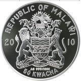 50 квача 2010, серебро (Ag 999) | Высоцкий — Малави, фото 1