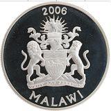 5 квача 2006, серебро (Ag 925) | Килиманджаро — Малави, фото 1