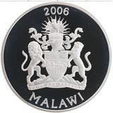 5 квача 2006, серебро (Ag 925) | Сафари — Малави, фото 1