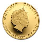 25 долларов 2009, золото (Au 999) | Год Быка — Австралия, фото 1