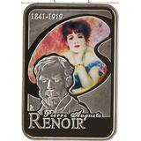 10 динеров 2008, серебро (Ag 925) | Художники мира: Пьер Огюст Ренуар — Андорра, фото 1